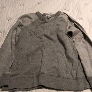 Women's grey swearshirt